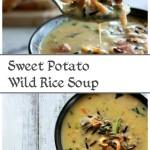 Sweet Potato Wild Rice Soup