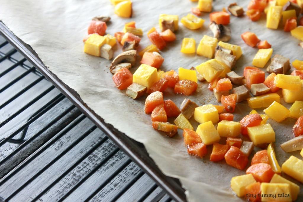 Maple glazed quinoa bowl- delicious fall quinoa dish!