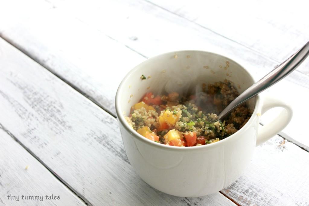Maple Glazed Quinoa Bowl-delicious fall side dish!