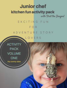 Adventure story activity pack for kids- healthy kids in the kitchen, free download!