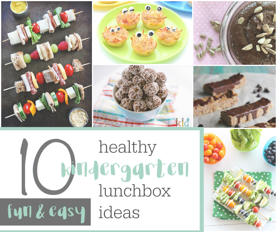 10 fun & easy ideas for a healthy kindergarten lunchbox | tiny tummy ...