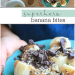 Delicious, healthy snack that kids can make themselves! Easy, healthy snack recipe for kids from tiny tummy tales