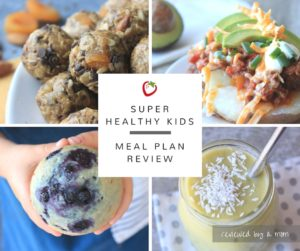 Super Healthy Kids Meal Plan Review- A mom's review of this popular meal planning system!