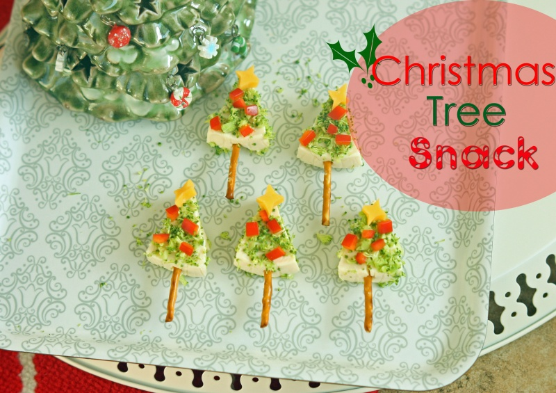 cheesy christmas tree snacks a healthy kids christmas idea
