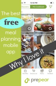 The best free meal planning app- awesome for healthy kid food inspiration