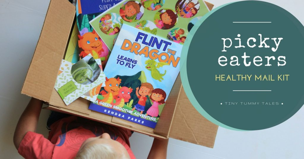 Get picky eaters to eat veggies with this healthy mail kit! All about making spinach awesome.