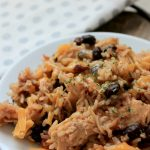 Easy instant pot mexican rice and chicken recipe. Dump and go recipe!