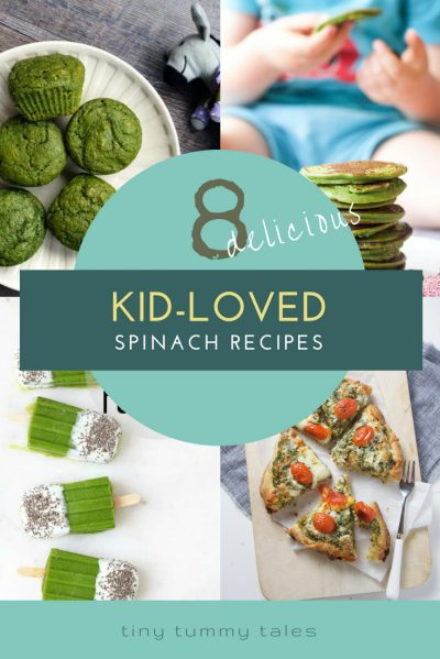 8 kid loved spinach recipes